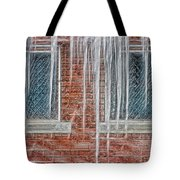 Iced Over Tote Bag