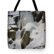 Iced Rocks Tote Bag