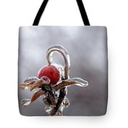 Iced Rose Hips Tote Bag