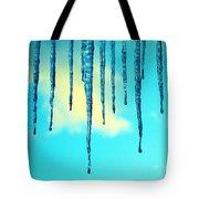 Iced Sky Tote Bag