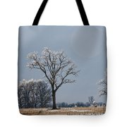 Iced Tree Tote Bag