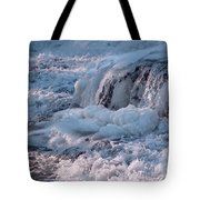 Iced Water Tote Bag