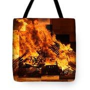 Iceland Bonfire Tote Bag