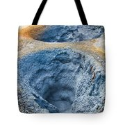 Iceland Natural Abstract Mudpot And Sulphur Tote Bag