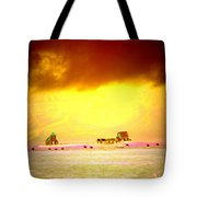 Wanna Live At The Magic Icelandic Countryside, At Least In The Summer  Tote Bag