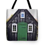 Icelandic Old House Tote Bag