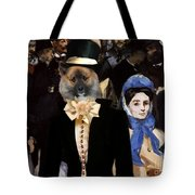 Icelandic Sheepdog Art Canvas Print Tote Bag