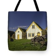 Icelandic Turf Houses Tote Bag