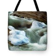 Icicle Creek Tote Bag