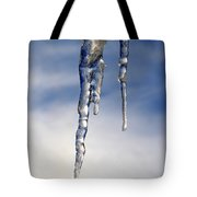 Icicle Formation Tote Bag