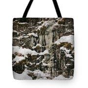 Icicle Rocks Tote Bag