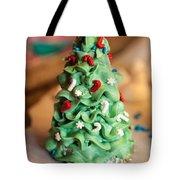 Icing Christmas Tree Tote Bag