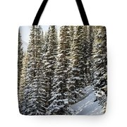 Icing On The Trees Tote Bag