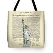 Icon Of Freedom Tote Bag