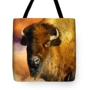 Icon Of The Plains Tote Bag