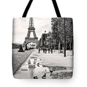 Icon Reflected Bw Tote Bag