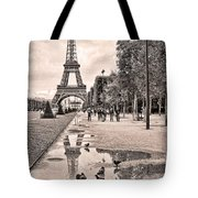 Icon Reflected Sepia Tote Bag