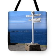 Iconic Lands End England Tote Bag