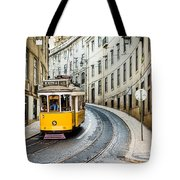 Iconic Lisbon Streetcar No. 28 IIi Tote Bag