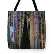 Iconic Radio City Tote Bag