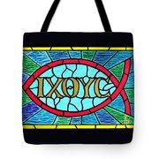 Icthus Sign Of The Fish Tote Bag