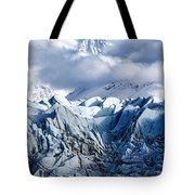 Icy Blue Tote Bag