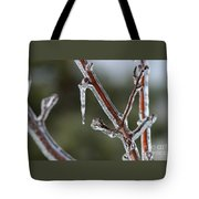 Icy Branch-7463 Tote Bag