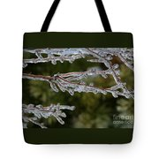 Icy Branch-7482 Tote Bag
