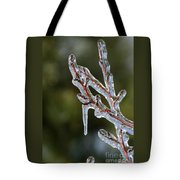 Icy Branch-7498 Tote Bag