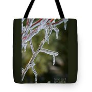 Icy Branch-7506 Tote Bag