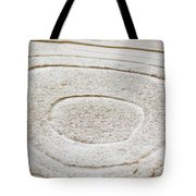 Icy Bulls Eye Tote Bag
