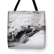 Icy Flow Tote Bag