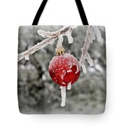 Icy Glazing Tote Bag