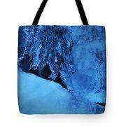 Icy Grimace Tote Bag