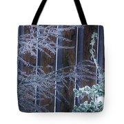Icy Verticles Tote Bag