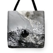 Icy Water Tote Bag