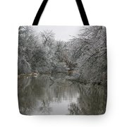 Icy Wonderland Tote Bag