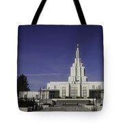 Idaho Falls Temple Tote Bag