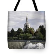 Idaho Falls Temple Tote Bag