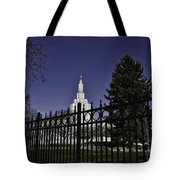 Idaho Falls Temple Series 3 Tote Bag