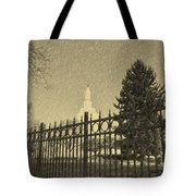 Idaho Falls Temple Series 5 Tote Bag