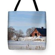 Idaho Falls Winter Tote Bag