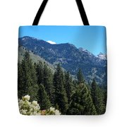 Idaho Mountain Side Tote Bag