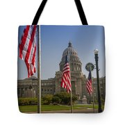 Idaho State Capitol In Boise Tote Bag