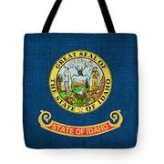Idaho State Flag Tote Bag by Pixel Chimp