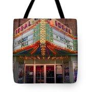 Ideal Theater In Clare Michigan Tote Bag