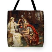 Idun And The Apples, Illustration Tote Bag