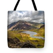 Idwal Lake Snowdonia Tote Bag