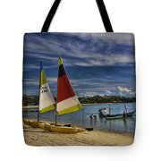 Idyllic Thai Beach Scene Tote Bag