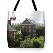 Idyllic View From Maryland State House Tote Bag